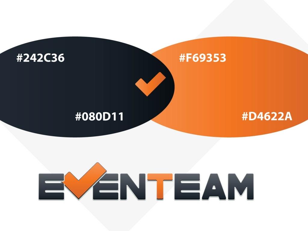EvenTeam logo colors