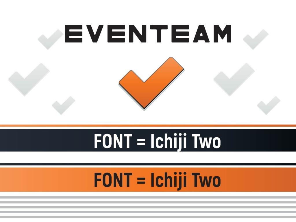 EvenTeam logo font