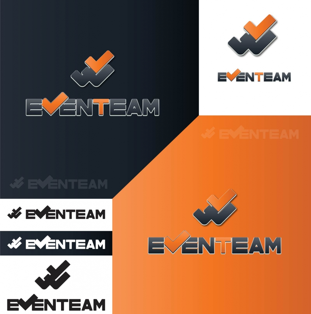 EvenTeam logo backgrounds
