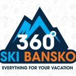 360° Bansko logo design full