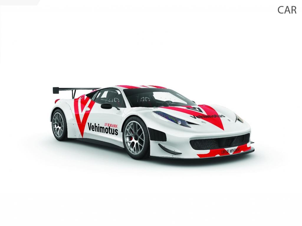 Vehimotus brand logo design car branding