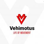 Vehimotus brand Vertical logo